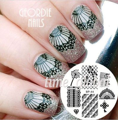 646 best stamping nailart 7 images on pinterest nail designs after stamping nail art apply top coat for lasting wear apply the nail polish to desired image within a plate recommended use the solid color nail prinsesfo Gallery