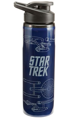 Trek water bottle< I've seen these in Target and I think it would be cool to have one.