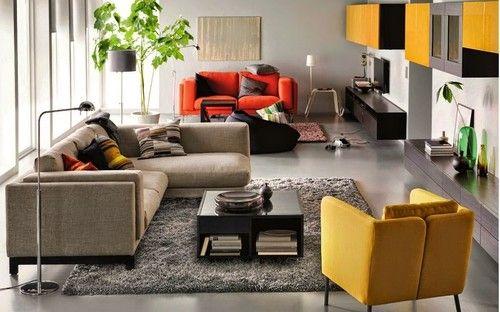 IKEA - Sofás coloridos e baratos