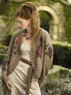 Botticelli jacket  from Rowan Knitting Magazine 44