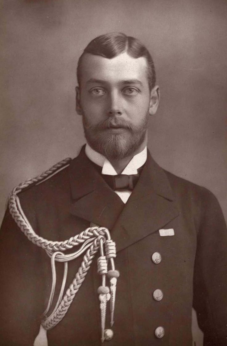 Prince George of Wales (1865-1936) The future King George V-look similar to anyone?