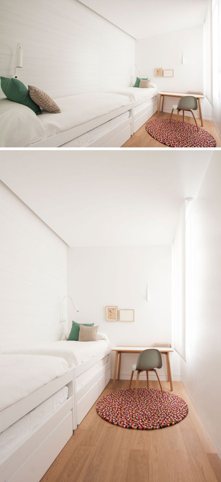 Small Bedroom With Two Beds 17 Best Ideas About Long Narrow Bedroom On Pinterest Narrow