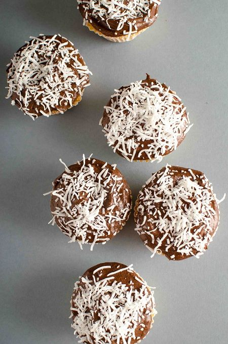 Australia Day Lamington Cupcakes - Cupcakepedia