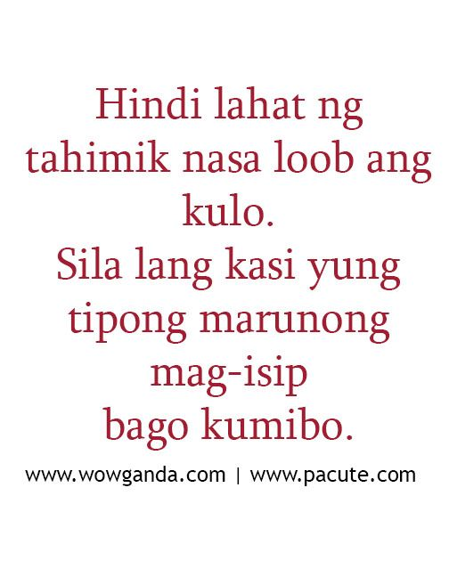 Hugot Patama Lines Quotes