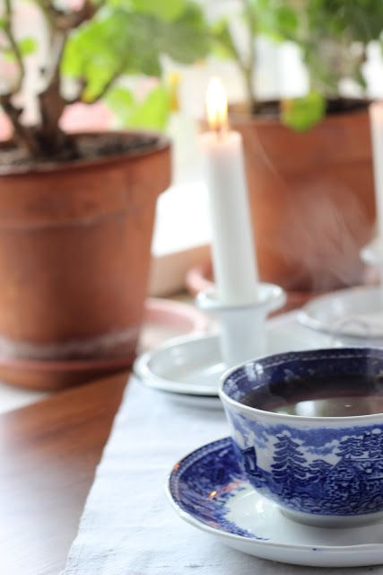 Pikkutalon elämää: Arabian maisema kahvikuppi