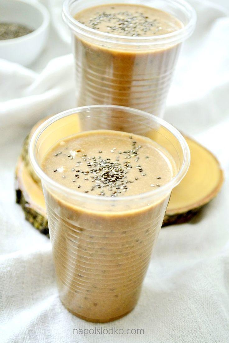 Koktajl kawowy z chia