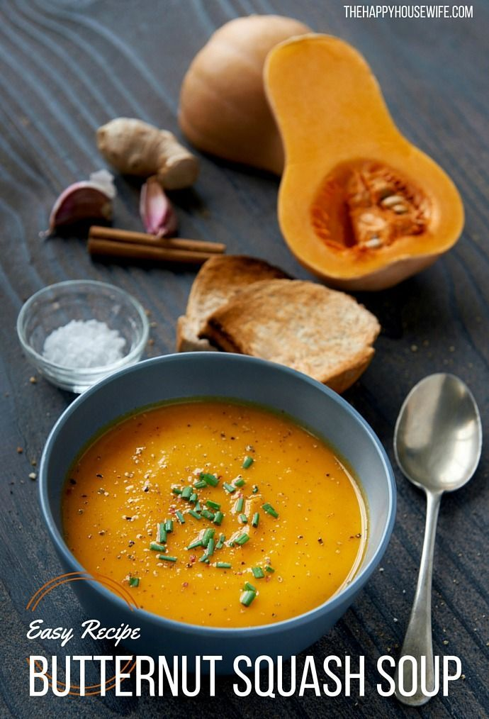 Thanksgiving Recipe | Butternut Squash Soup in your Vitamix