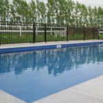 This Open style Aluminium fencing is the perfect way to enclose your pool area and not miss out on the stunning views of the country!  #poolfencing #wemakefencingeasy #ruralliving  For more inspiration check out https://www.boundaryline.co.nz/case_study/