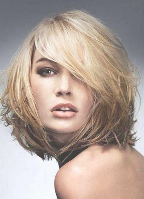 Idealer Haarschnitt Für Rundes Gesicht In 2018 Neu Frisuren Haar