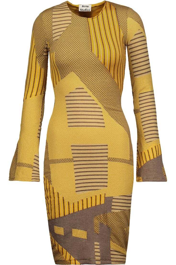 Shop on-sale Acne Studios Radella glittered intarsia-knit midi dress. Browse other discount designer Dresses & more on The Most Fashionable Fashion Outlet, THE OUTNET.COM