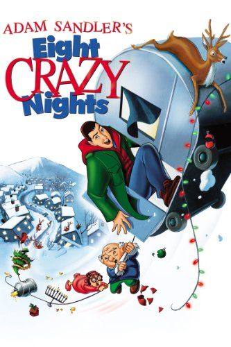 Adam Sandler's Eight Crazy Nights - http://christmasstore.cookingwithian.com/adam-sandlers-eight-crazy-nights/