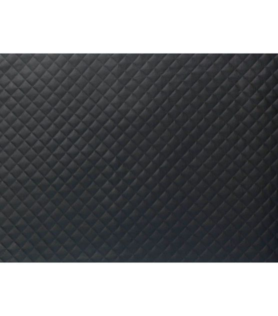Cosplay by Yaya Han Patterned Pleather Fabric-Black Square