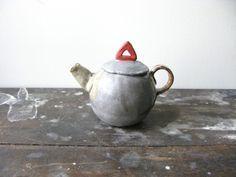 Tazas Teteras, Teteras De Cerámica, Oh Tea, Tea La, Glass Ceramic, Kitly Tea, Mr Kitly, Cutie Teapot, Dough Ceramic