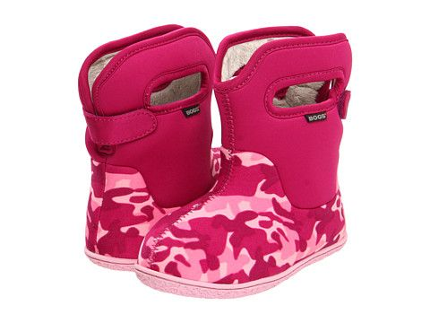 Bogs Kids Baby Camo Boot (Infant/Toddler) so cute!