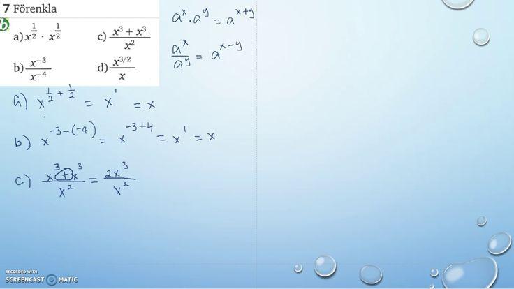 Matematik 5000 Ma 2a   Kapitel 2   Blandade övningar 2   7