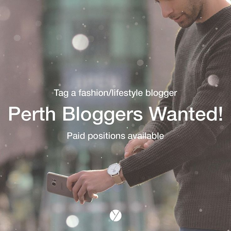 Are you/do you know a Perth blogger/vlogger? Tag them! We are looking to partner up with Perth based bloggers who specialize in fashion or lifestyle blogs. It doesn't matter if you are on instagram, Facebook, Pinterest, YouTube or even your own website! We want you!  This is a unique and rare opportunity to partner with one of the fastest growing Perth brands!  __________________________  www.whywatches.com __________________________  #WHYwatches #perth #australia #watches #watch #menswatch
