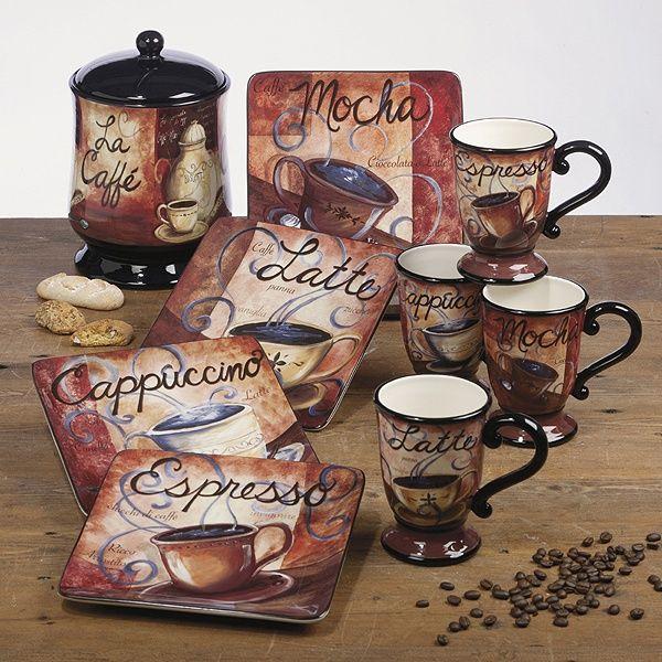 Coffee Decor For Kitchen: 61 Best Kitchen Images On Pinterest