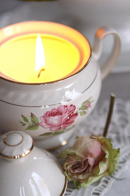 17 Best Images About Teapot Candles Holders On Pinterest
