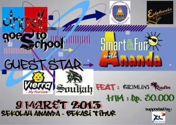 """SMART & FUN with ANANDA"" 8-9 maret 2014"
