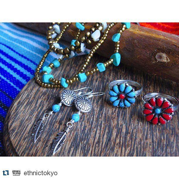 #Repost @ethnictokyo  ターコイズアクセサリー販売開始しました 指輪ブレスレットアンクレットピアスなどなど レッドコーラル(珊瑚)も http://ethnictokyo.com TOPページから飛べます #turquoise #accessory #earrings #ring #ethnic #beach #summer #hippie #gypsy #bohemian #selectshop #ehnictokyo #shopethnictokyo #ターコイズ #アクセサリー #指輪 #ピアス #夏 #海 #インポート #ヒッピー #ジプシー #ボヘミアン #ハワイアン #エスニック #セレクトショップ #ネイティブ