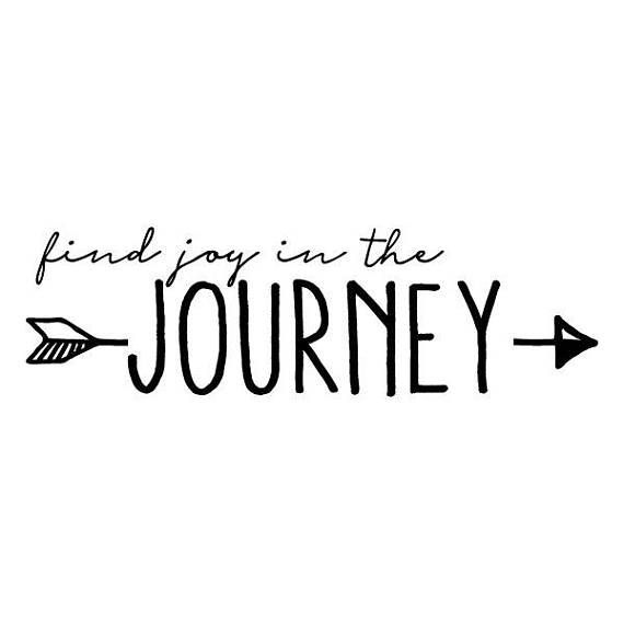 Find Joy In The Journey Wall Quotes Vinyl Wall Decal