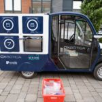 The first self-driving grocery delivery van 7/4/17 I got to experience the disruption of autonomous deliveries first-hand in Greenwich
