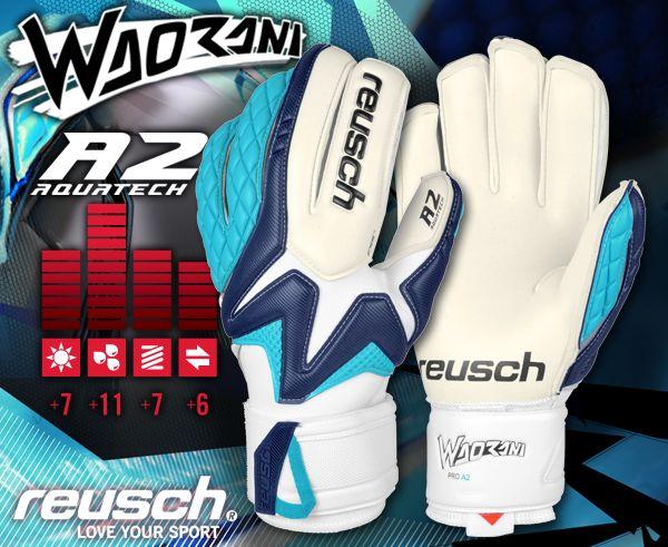 Goalkeeper Glove Reusch Waorani Pro A2 guanti da portiere