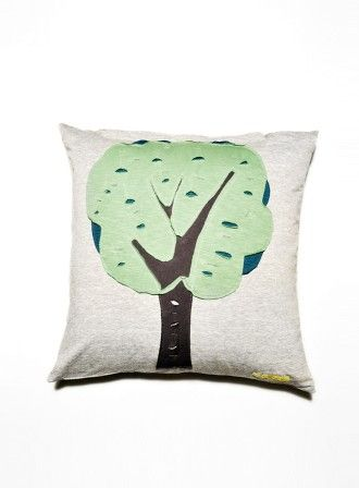 """Pillow """"Tree"""" 