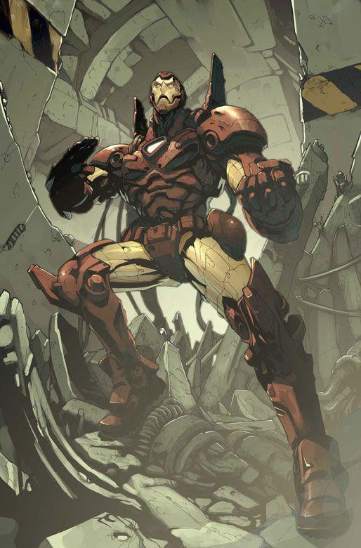 Avengers Disassembled: Iron Man | Artist: Pat Lee