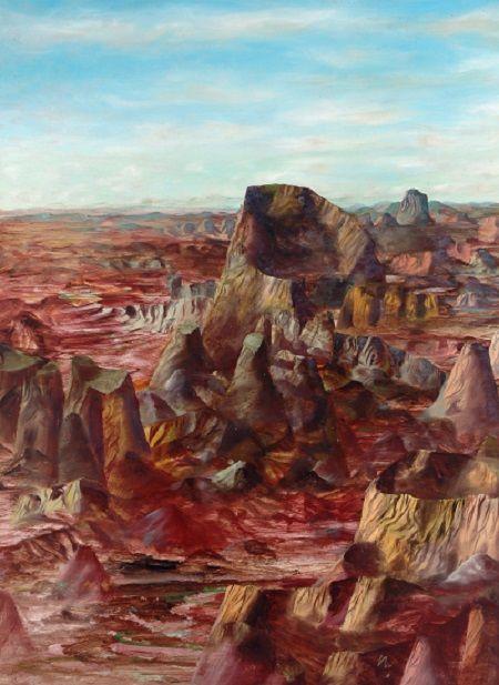 Sidney Nolan: Central Australia (1960)