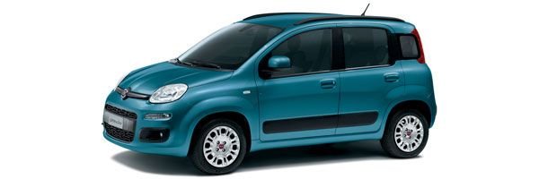 Group B - Fiat Panda: 1200cc, manual, 5 seats, 5 doors, A/C, radio, CD player. Economy car rental in Paros