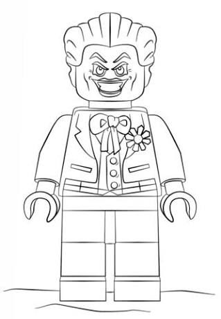 Lego Villanos Para Colorear - tongawale.com