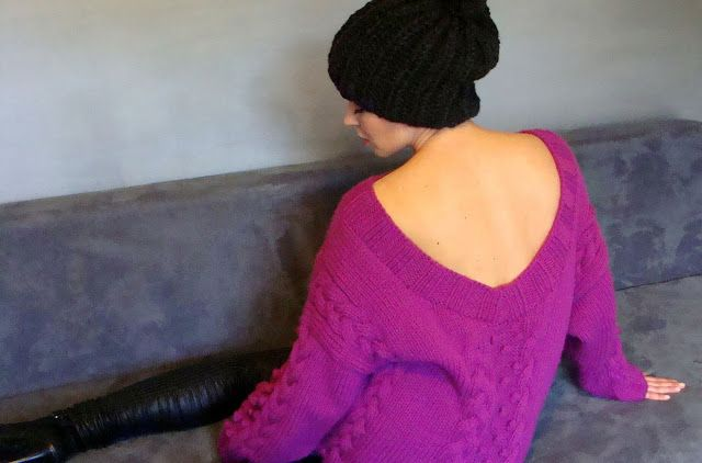 Oversize Cable Sweater #knitted, #handmade, #cableknits, #nudakillers