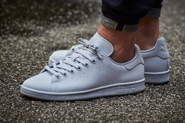 Adidas Stan Smith Adicolor Reflective Halo Blue | Chaussures de ...