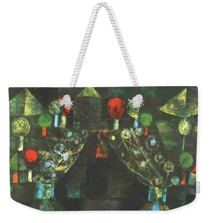 Women Weekender Tote Bag featuring the painting Women Pavilion 1921 by Klee Paul