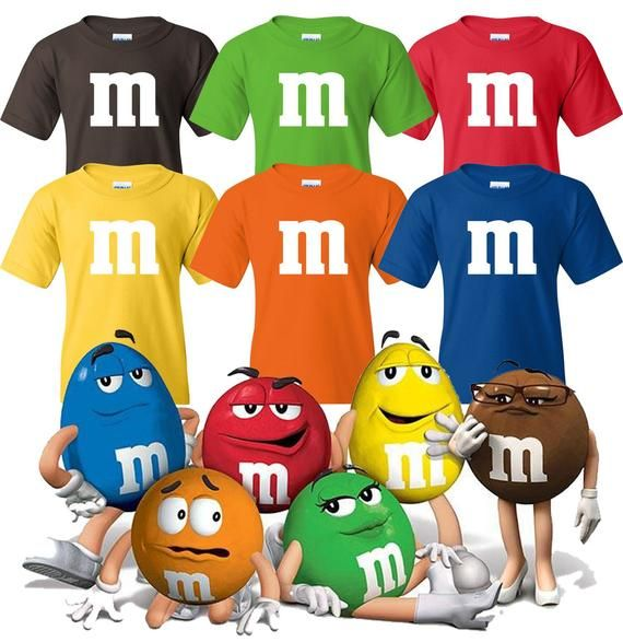 023c8cb33d26e M&M Halloween Group Costumes M and M CandyHalloween T Shirts Group ...