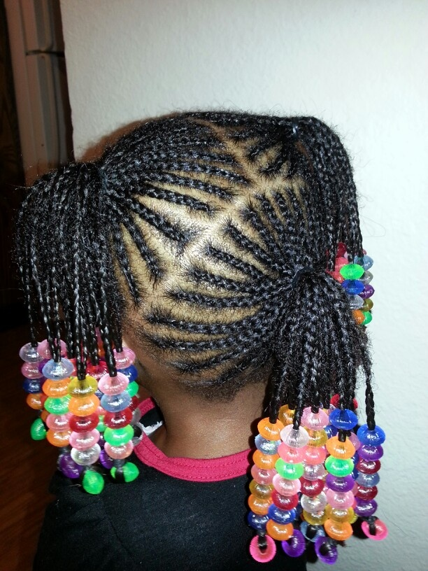 1000+ Images About Braids, Beads And Bows For Little Girls