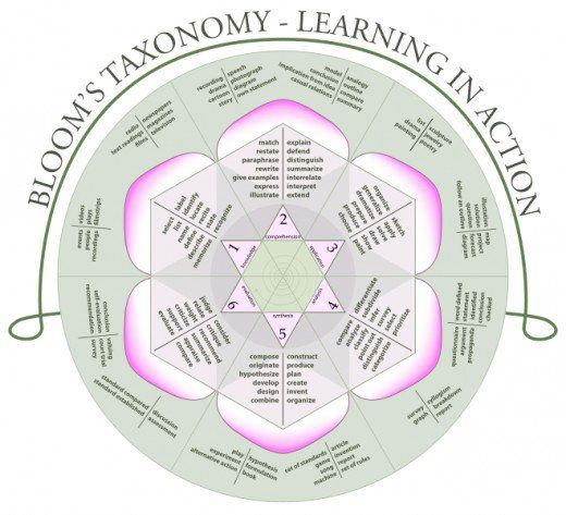 Whether you're a high school student cramming for a psychology test, an education student studying for the PLT Praxis, or a classroom teacher, this page gives you the tools you need to understand each level of Bloom's Taxonomy of Learning Domains, the tasks and objectives associated with each level, and modern revisions to the hierarchy.