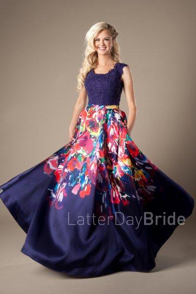 25  best ideas about Modest prom dresses on Pinterest | Modest ...