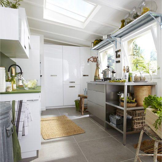 From leroy merlin · meuble de cuisine delinia composition type play blanc blanc n0 cuisine