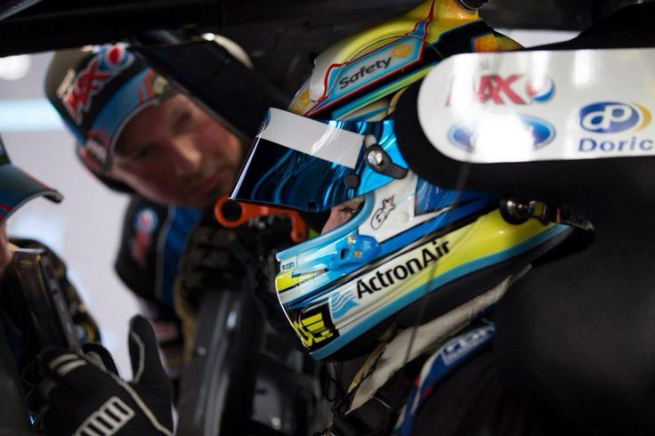 In the car at Bathurst 2014.