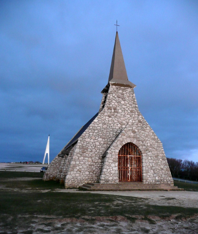 Chapelle Notre-Dame-de-la-Garde (Etretat) © gianni