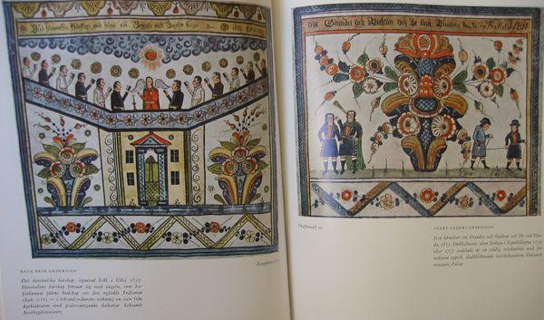 BOOK DALMALNINGAR英語/ドイツ語スウェーデン語 - $ 21.00:スウェーデンストア - ヴィンテージとより、スウェーデンのギフト - ダラ馬 - 骨董品