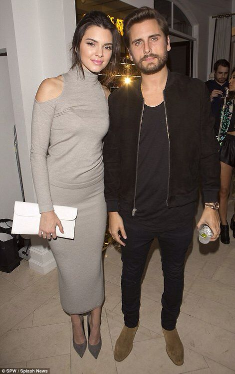 Kendall Jenner displays her model figure in curve-skimming outfit
