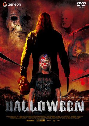 Halloween (2007) movie cover (Japan)