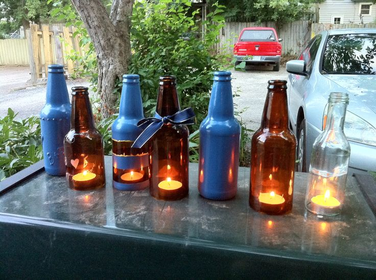Beer bottle decoration ideas prototypes price geiss for Bottle decoration