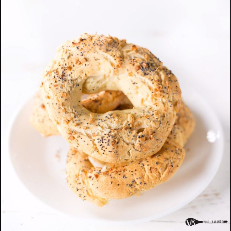 These Easy GlutenFree Bagels require no yeast, no boiling