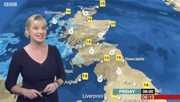 BBC weather: Carol Kirkwood fans in uproar over MAJOR blunder 'She's confusing me' - http://buzznews.co.uk/bbc-weather-carol-kirkwood-fans-in-uproar-over-major-blunder-shes-confusing-me -