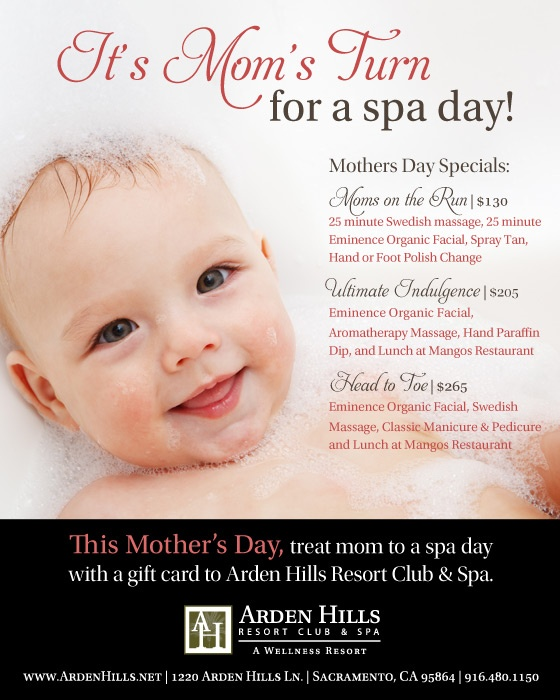 This mother's day treat mom to a Spa Day with a gift card ...