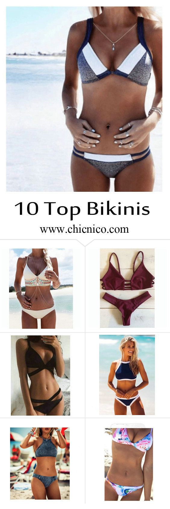 Starting from $14.99! Amazing top 10 bikinis are at www.chicnico.com! Bikini…
